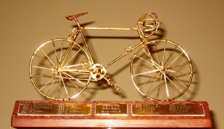 Peters Golden Bicycle