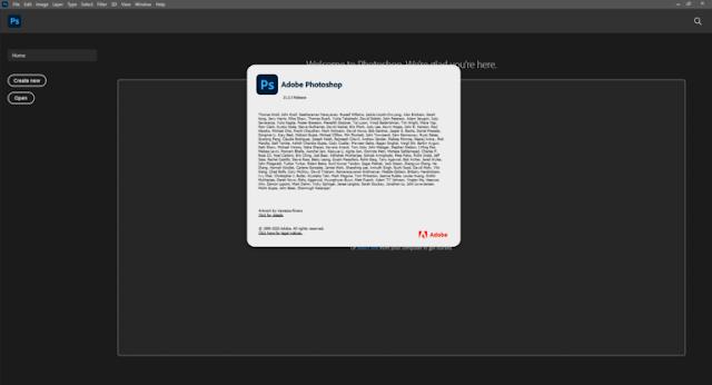 Adobe Photoshop 2021 v22.5.1.441 com Crack