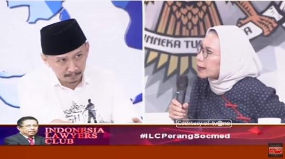 Ratna Sarumpaet Semprot Abu Janda di ILC tvOne