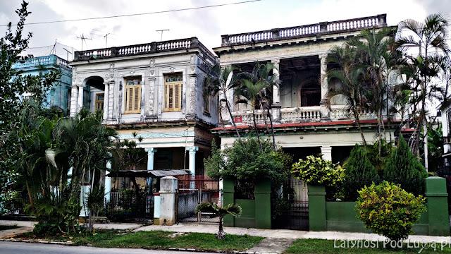 Dzielnica willowa Vedado w Hawanie