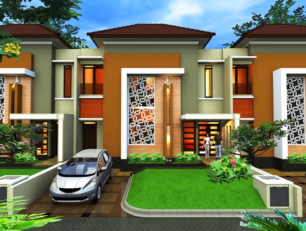 Desain exterior rumah impian