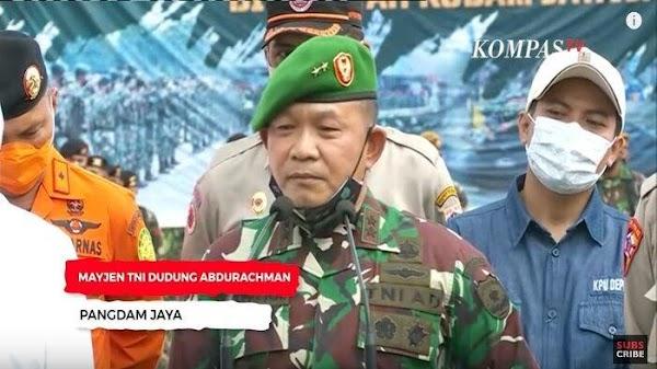"""Heboh! Perintahkan Copot Baliho HRS, Pangdam Jaya """"Kepleset Lidahnya"""" Saat Baca Ayat Al-Quran"""