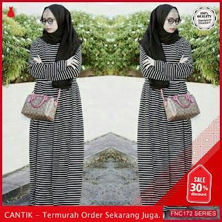 FNC172G85 Gamis Maxi Dress Muslim Wanita Wanita Spandex Serba 50 Ribuan
