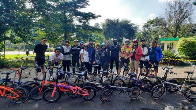 Komunitas TTSG dukung Pemerintah Kota Bogor membuat jalur khusus sepeda