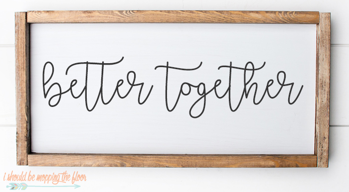 Better Together Font