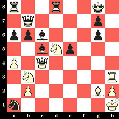 Les Blancs jouent et matent en 4 coups - Maia Chiburdanidze vs Amador Rodriguez, Barcelone, 1979