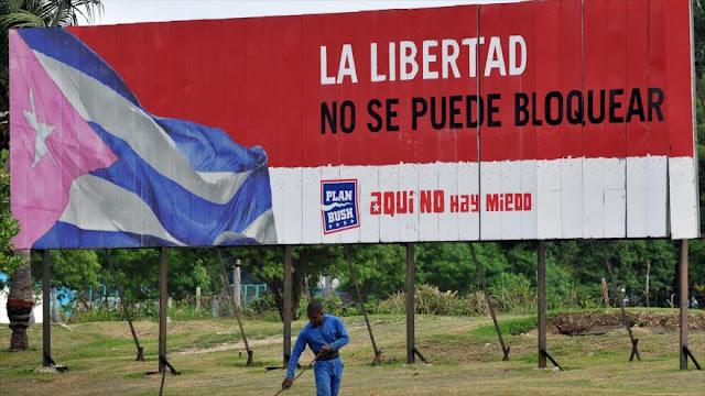 """Piden a EEUU dejar """"adicción bárbara y salvaje contra Cuba"""""""