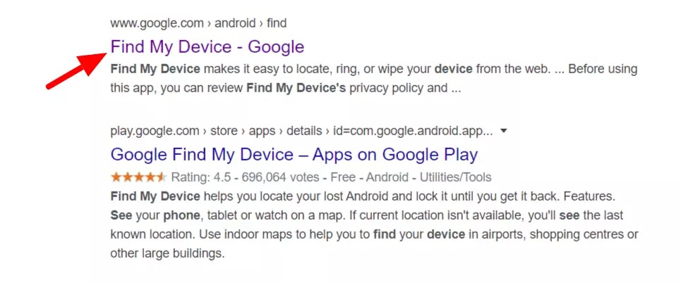 find-my-device-google