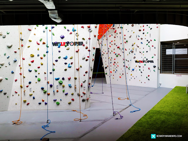 bowdywanders.com Singapore Travel Blog Philippines Photo :: Singapore :: Climb Central: Why You Need to Try Singapore's Tallest Indoor Air-Conditioned Climbing Gym