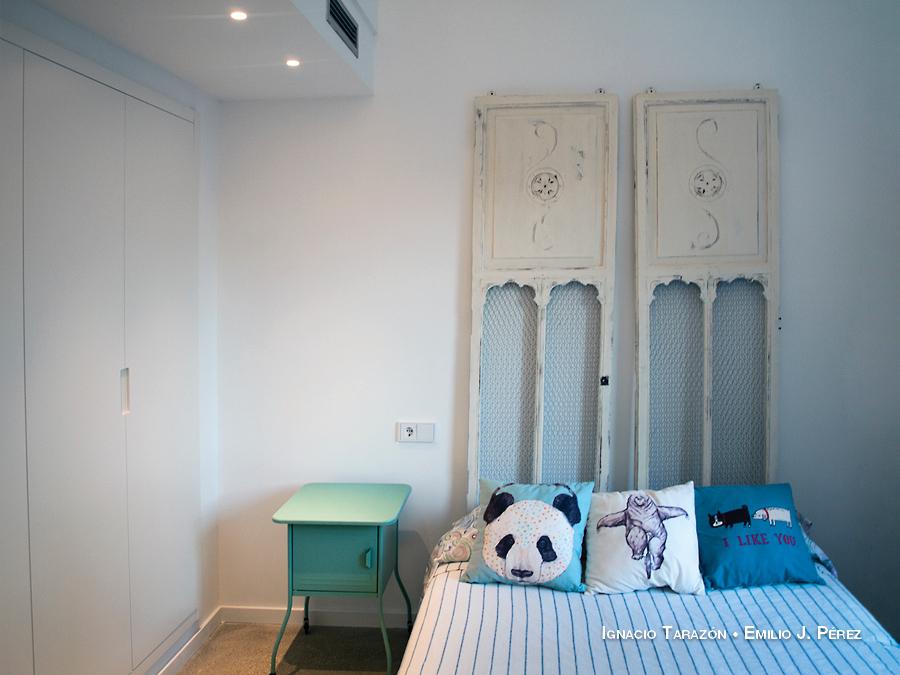 Dormitorio minimalista infantil