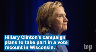 Clinton Campaign Will Participate In Wisconsin Recount, With An Eye On 'Outside Interference,' Lawyer Says