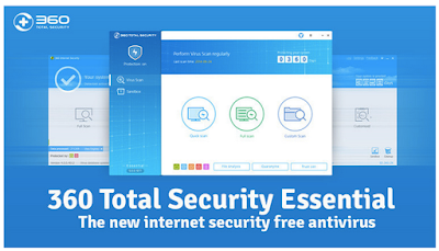 Download 360 Total Security Essential Latest 2016