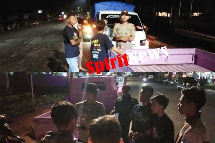 Kapolsek Tinggimoncong Gowa, Mengunjungi Komunitas Mobil Maxxio