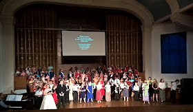 Opera for All's Eugene Onegin project in Grimsby Central Hall