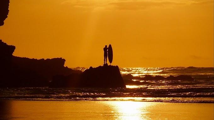 Surfe, Surfista, Prancha, Pôr do Sol, Mar