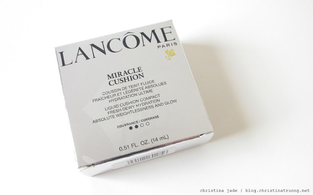 Lancome Miracle Cushion 01 Pure Porcelaine Review and Swatch