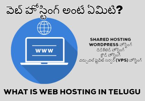 what-is-web-hosting-in-telugu