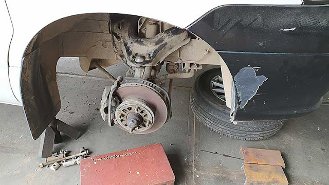 Common components of car brake