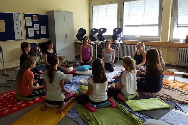 Projektwoche Megina-Gymnasium Mayen 2016, Foto: Projektwochenzeitung