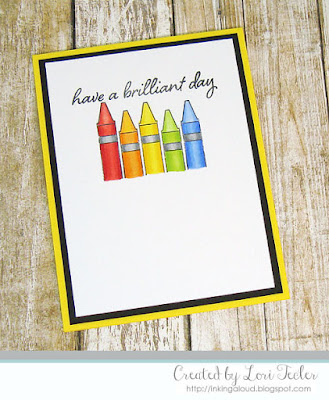 Have a Brilliant Day card-designed by Lori Tecler/Inking Aloud-stamps from Honey Bee Designs