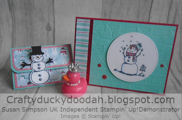 Craftyduckydoodah!, Let It Snow, Snowman Season Bundle, Susan Simpson UK Independent Stampin' Up! Demonstrator, Supplies available 24/7 from my online store, Chirstmas 2019,