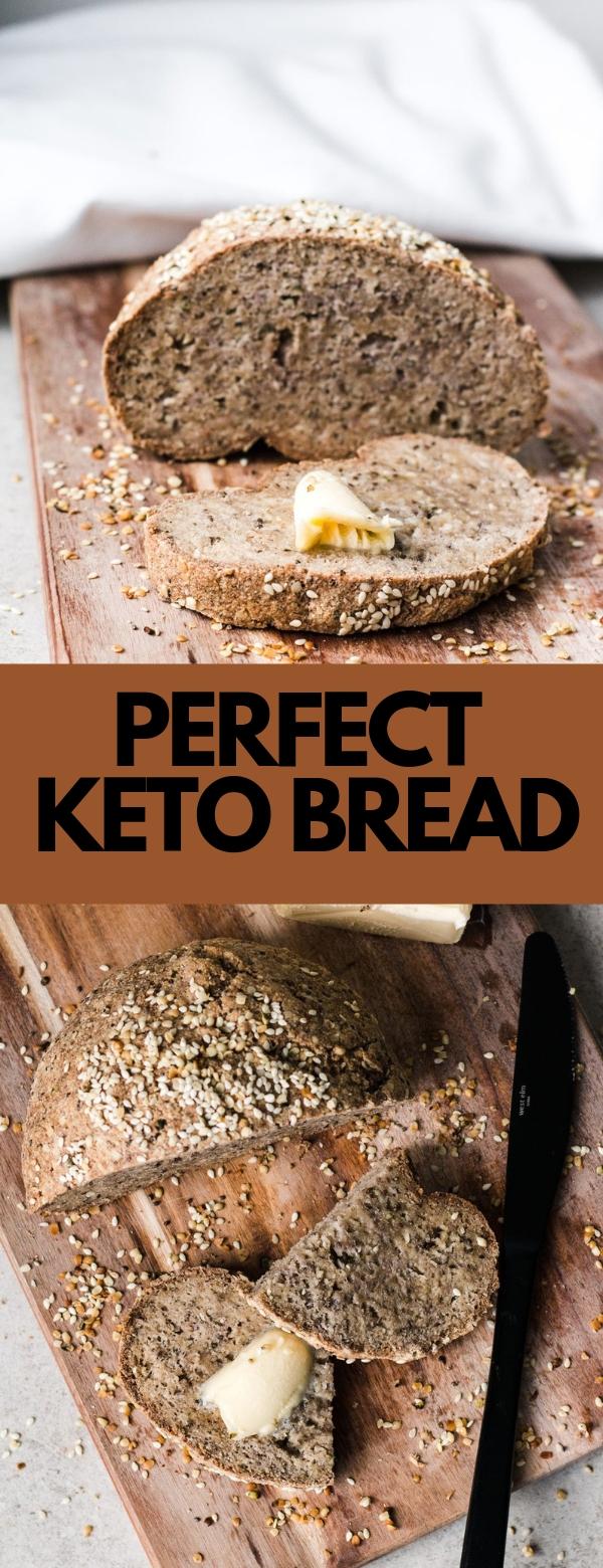 PERFECT KETO BREAD #BREAD #DIET #KETO #LOWCARB