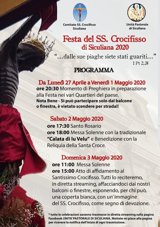 27 aprile - 3 maggio | Festa del SS Crocifisso di Siculiana: il programma