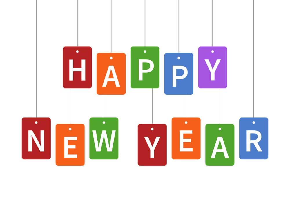 Happy New Year Fox's Letter Box Images