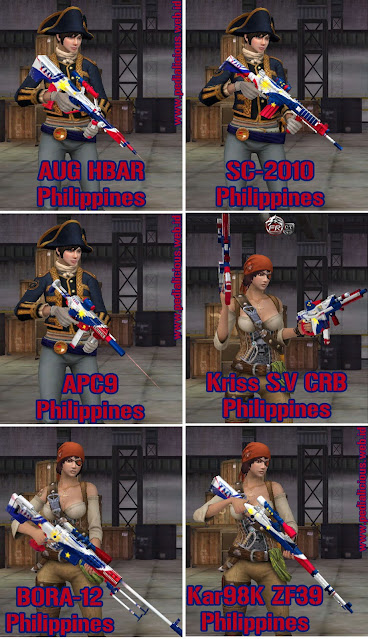 Preview Senjata Seri Philippines Point Blank Zepetto Indonesia