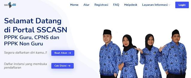 Pendaftaran CPNS 2021 lewat SSCASN