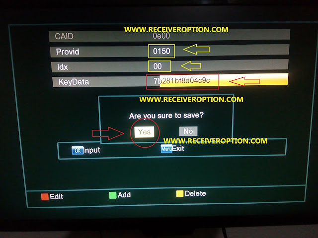 ECOLINK EL8000 ALL IN ONE HD RECEIVER POWERVU KEY OPTION