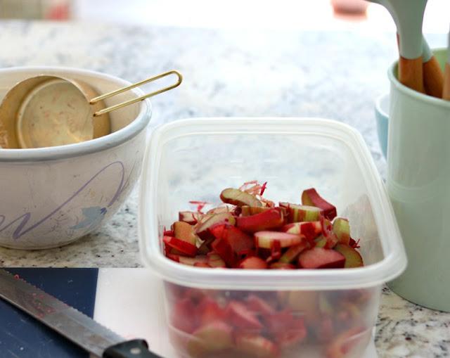 baker, baking, recipe, homemade, homemaker, bake, cake, easy, rhubarb