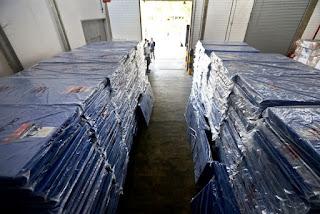 Doação de colchões na Bahia