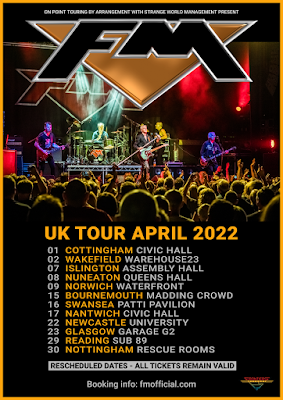 FM - UK Tour April 2022 - poster
