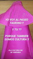 """Perú Taurino: """"YO VOY AL PASEO TAURINO. ¿Y TU?, LLAMAMIENTO DE ..."""