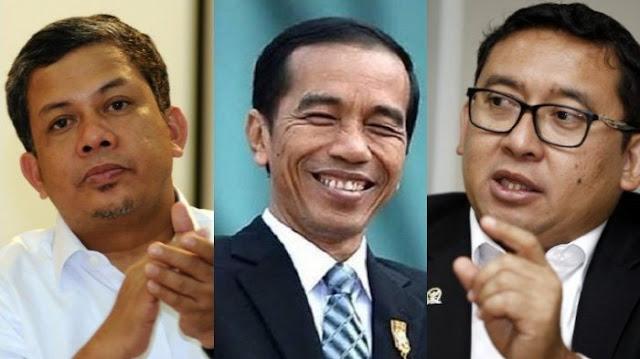 Fahri Hamzah Buka Suara Soal Beredar Meme Dirinya Dukung Pak Jokowi, Sok Jual Mahal....