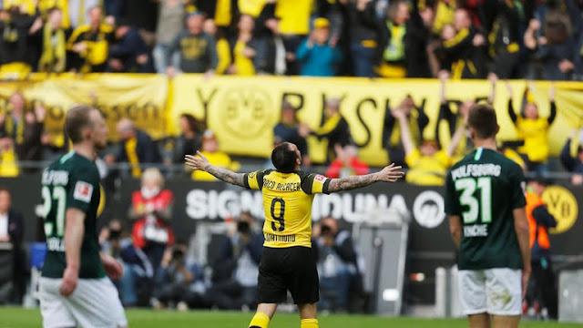 El Dortmund recupera la cima de la Bundesliga