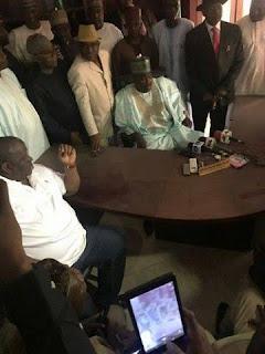 Breaking: Ali Modu Sheriff takes over PDP secretariat in Abuja [photos]