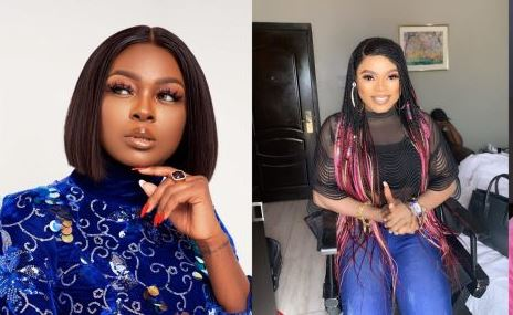 Bobrisky Berates Ka3na After She Criticized Celebrities Who Gift Money To Fans For Tattooing Their Photos On Their Body
