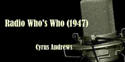 Radio Who's Who