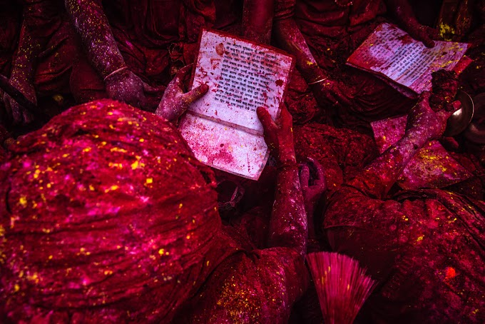 Rituals in Holi