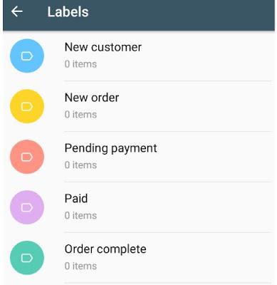 whatsapp business contact segmentation