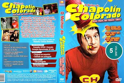Série O Melhor do Chapolin Colorado Volume 5 DVD Capa