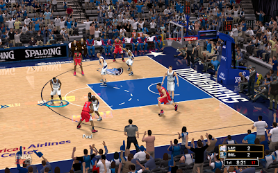 NBA 2K13 Mavericks American Airlines Center Court Patch