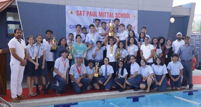Winning Team of Sat Paul Mittal School