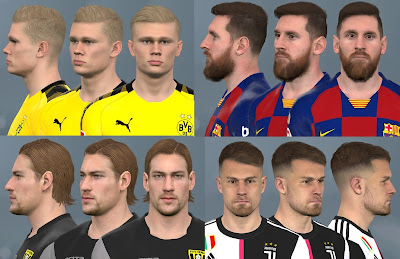 PES 2017 Facepack February 2020 by WER