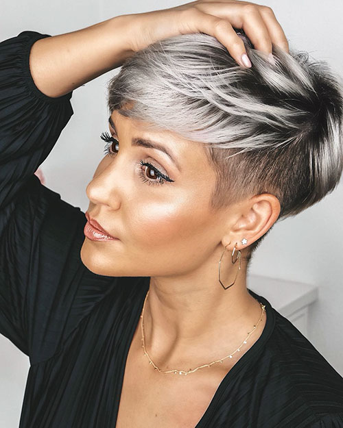 pixie cut thin hair