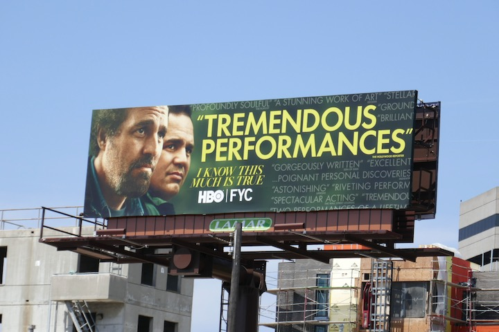 I Know This Much Is True 2020 FYC billboard