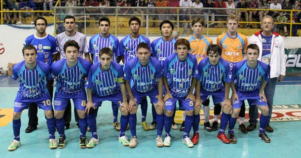c56d5650f2b4a Nem só de reforços de várias partes do Brasil será formada a equipe da  Associação Campo Mourão Futsal
