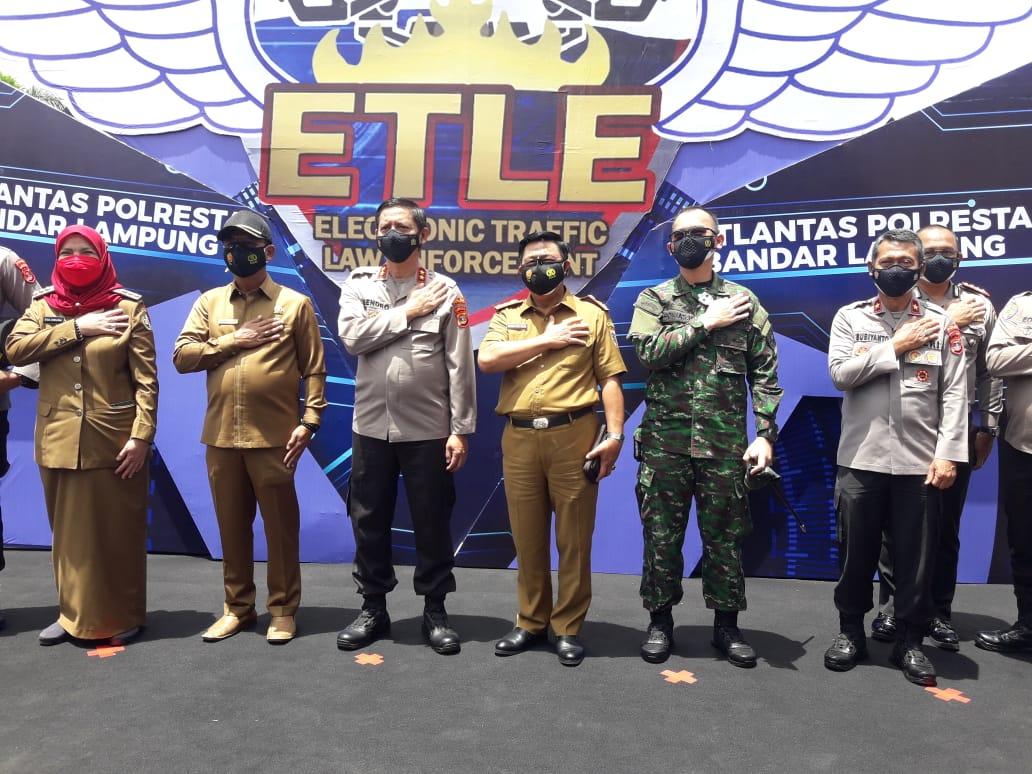 Polda Lampung salah satu Polda yang lauching ETLE